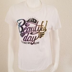 Black Matter Good Day to Leave Me Alone Tee XL L